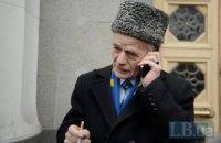 Російські військові не пускають Джемілєва до Криму