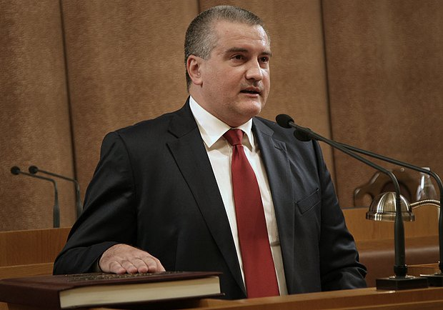 Сергей Аксенов, псевдопремьер Крыма