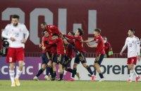 Испания побила рекорд Германии в отборочных матчах чемпионатов мира