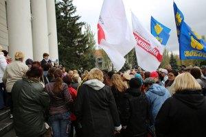 Оппозиция пришла к Януковичу из-за выборов