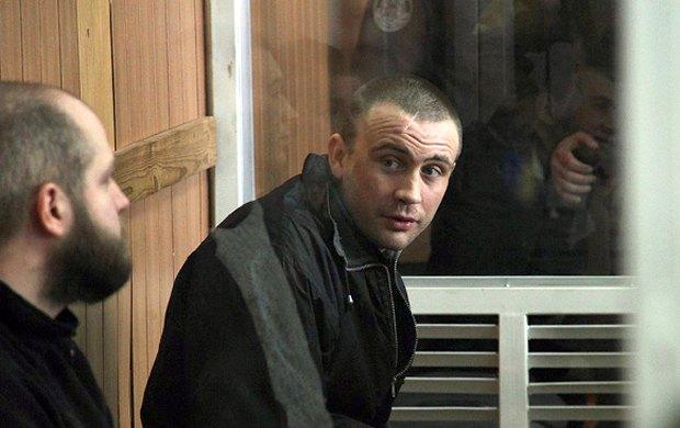 Олександр Посмиченко в залі суду