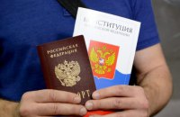 Данілов заявив, що Росія видала 630 тисяч своїх паспортів у ОРДЛО