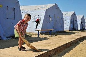 Россияне не прочь отправить украинских беженцев на родину