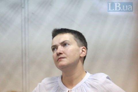Суд продовжив арешт Савченко до 30 жовтня