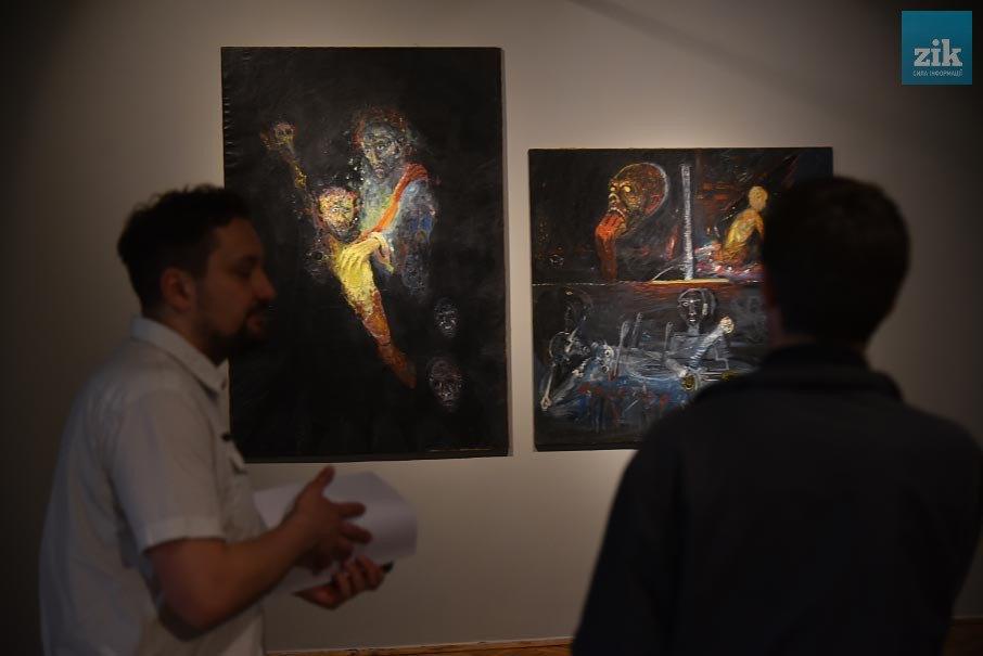 Виставка картин Мирослава Ягоди