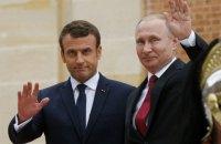 Макрон обсудил с Путиным ядерную программу Ирана