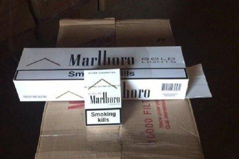 """У """"ЛНР"""" заявили про затримання контрабандних сигарет з """"ДНР"""" на 40 млн рублів"""