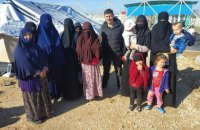 Украинские женщины освобождены из сирийского лагеря для семей террористов ИГИЛ