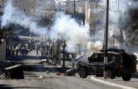 Четыре палестинца погибли в результате стычек с израильскими военными