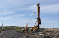 На трассе Н-24 в Николаевской области строят новый мост