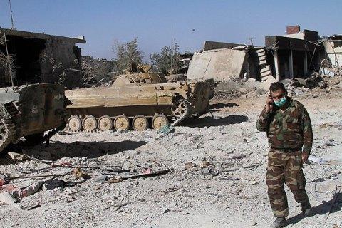 Перемирие вСирии несохраняется