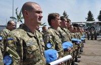 В миротворческих миссиях погибли более 30 украинских военных, - Порошенко