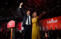 Дружина прем'єр-міністра Канади одужала від коронавірусу
