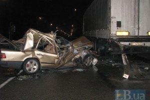В России сразу 40 машин стали жертвами мастштабной аварии