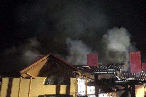 У Луцьку підпалили ресторан місцевого бізнесмена