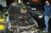 """Уночі в Броварах спалили автомобіль програми """"Схеми"""" (оновлено)"""