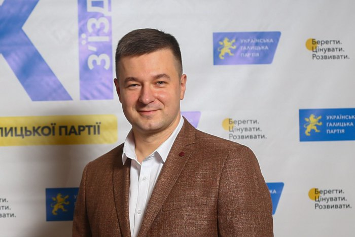 Голова Української галицької партії Ростислав Коваль