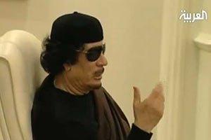 Сирийский телеканал передал обращение Каддафи