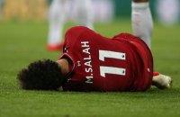 Салах в матчі чемпіонату Англії отримав травму голови і покинув поле на ношах