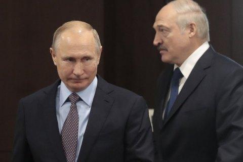 Путін і Лукашенко домовились зберегти ціни на газ для Білорусі наступного року