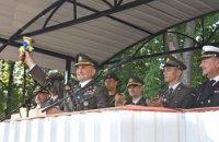 В Киевский военный лицей имени Богуна впервые приняли девушек