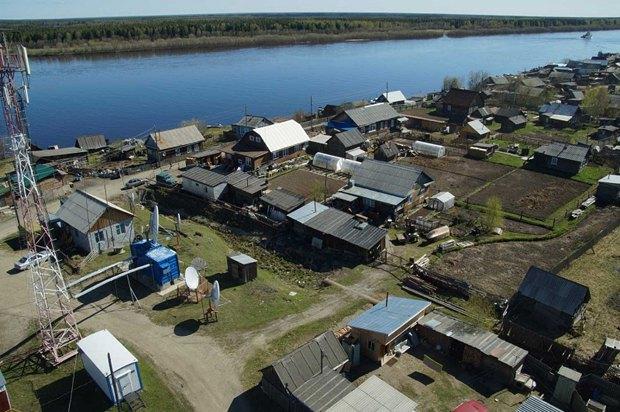 Поселок Саранпауль