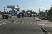 Прикордонна служба підтвердила заїзд в Україну військової техніки з Угорщини