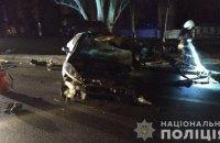 Військовослужбовець загинув у нічній ДТП у Миколаєві