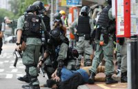 В Гонконге арестовали около 50 активистов