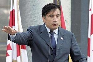 Саакашвили обещает вернуть утраченные в войне с Россией земли