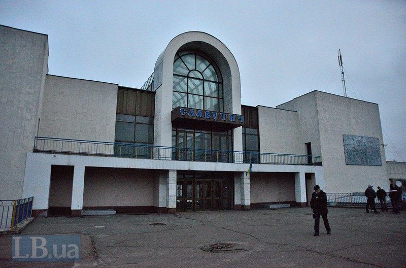 Вокзал в Славутиче