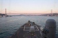Самолеты ВВС РФ совершили опасные маневры у эсминца США в Черном море, - Пентагон