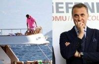 У владельца турецкого футбольного клуба угнали яхту, чтобы перевозить нелегалов