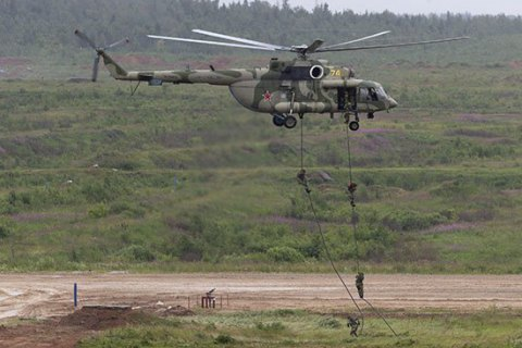 У Саратовській області Росії розбився військовий вертоліт Мі-8