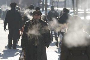 В Украине побит температурный минимум