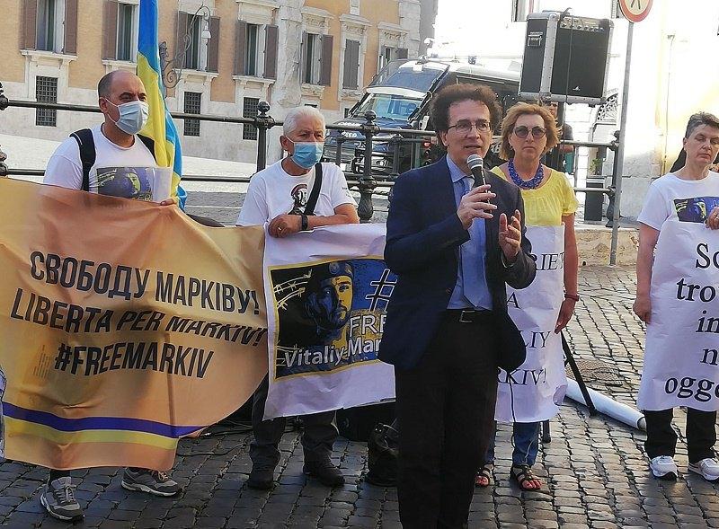 Голова італійської Федерації з прав людини Антоніо Станґо