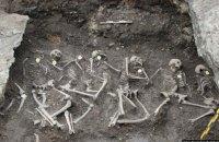 В Ровенской области нашли 19 останков жертв захоронения НКВД