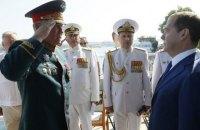МЗС засудило візит Медведєва в окупований Крим