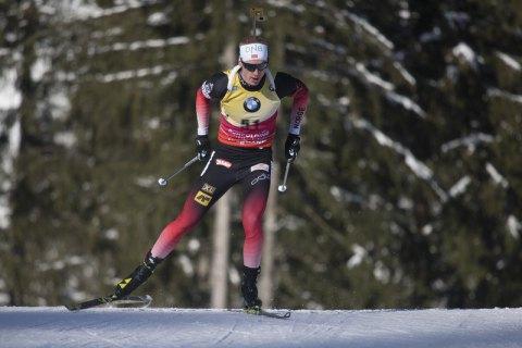 Золотим норвезьким дублем завершився чоловічий біатлонний спринт на етапі Кубка світу в Антхольці