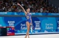 Під час церемонії нагородження на Гран-прі з гімнастики в Брно замість гімну РФ пролунав гімн СРСР