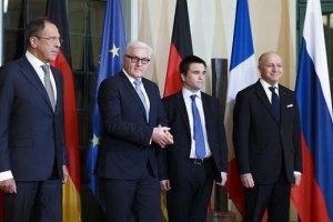 """МИД ФРГ заявил о желании обсудить имплементацию минских соглашений на встрече """"нормандской четверки"""""""