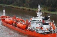 Турецкое судно разлило растительное масло у берегов Украины