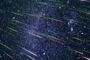 Сегодня ночью каждые 3-4 секунды будет падать метеорит