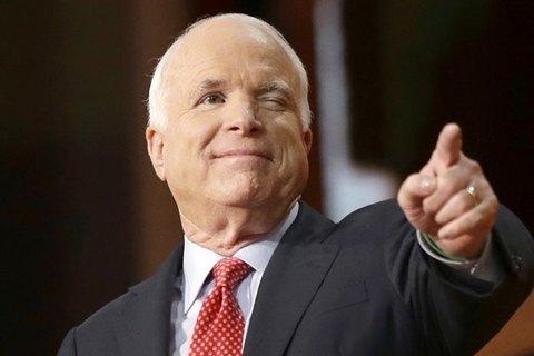 Улицу Кудри в Киеве переименовали в честь сенатора США Маккейна