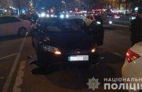 У Харкові автомобіль збив трьох пішоходів на острівці безпеки