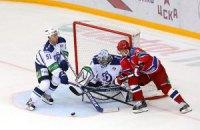 КХЛ: ЦСКА послал чемпиона в глубокий нокаут