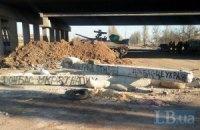 Боевики ночью обстреляли Пески из тяжелого вооружения