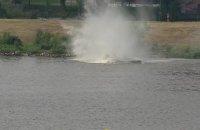 Під час авіашоу в Польщі літак впав у річку