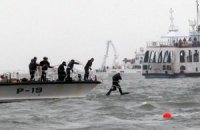 Кількість жертв катастрофи південнокорейського порома перевищила 100 осіб