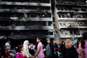 Каддафи призвал народ освободить страну от предателей и НАТО